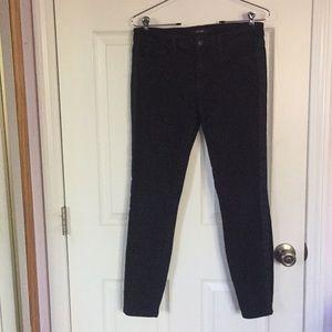 Joe's striped jeans